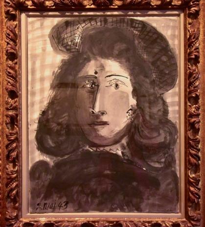 Mujer con sombrero - Pablo Picasso