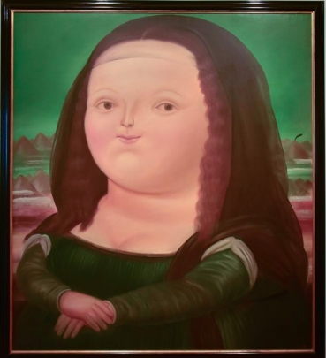 Monalisa - Fernando Botero