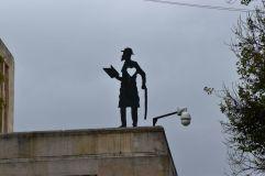 Sculpture en hommage à José Asunción Silva