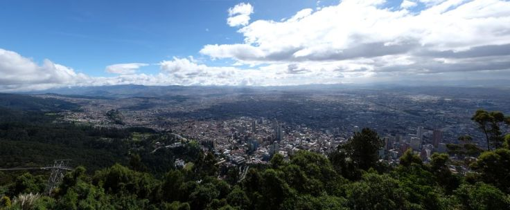 Panorama depuis le Monserrate