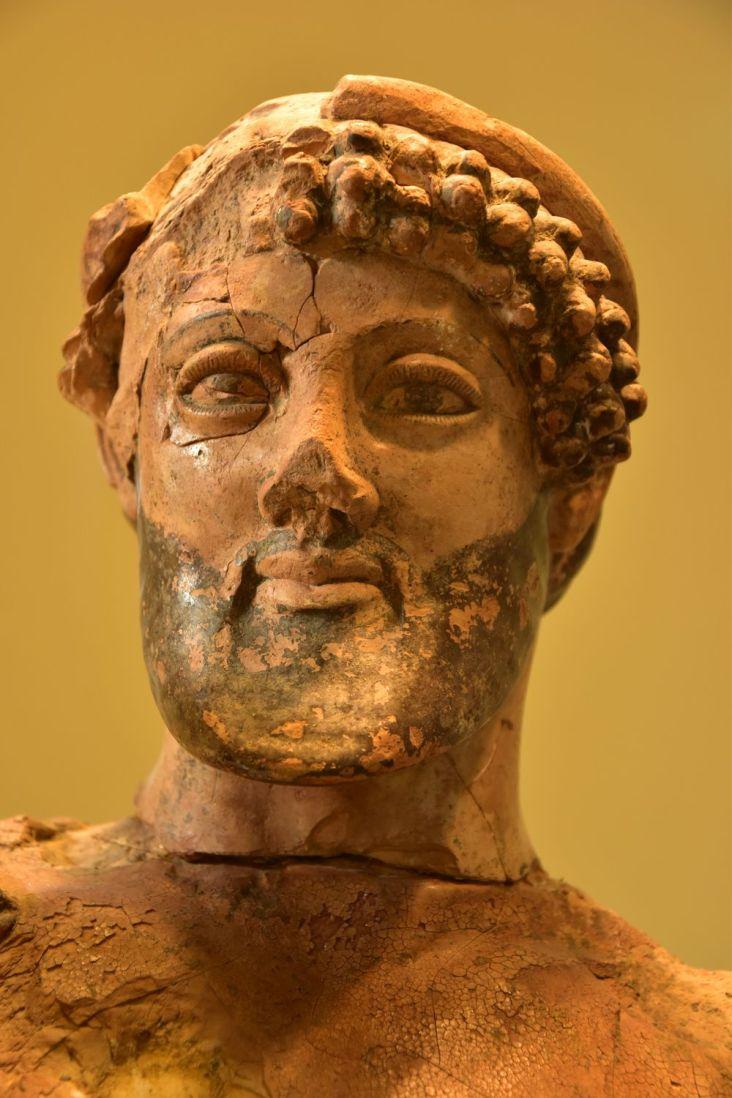 Visage de Zeus (Zeux enlevant Ganymède)