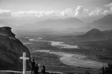 Croix dans le monastère Holly Trinity