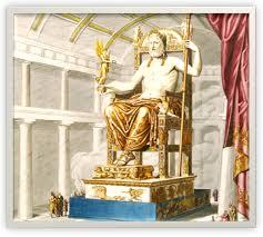 Statue cryséléphantine