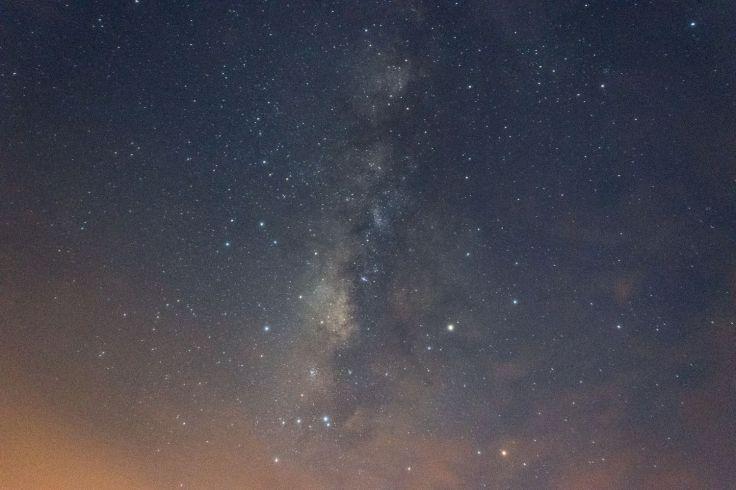 Voie Lactée à l'observatoire de Villavieja
