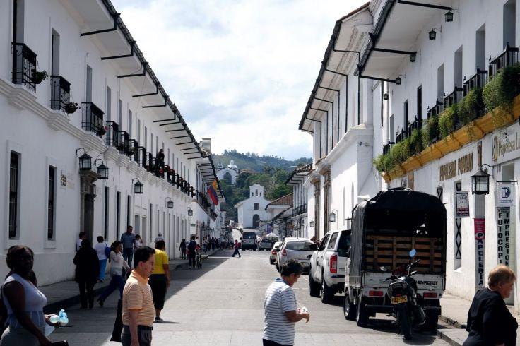 Rue blanche, Popayan