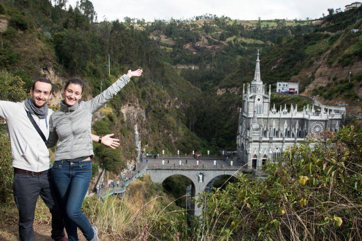 Les touristes à Las Lajas