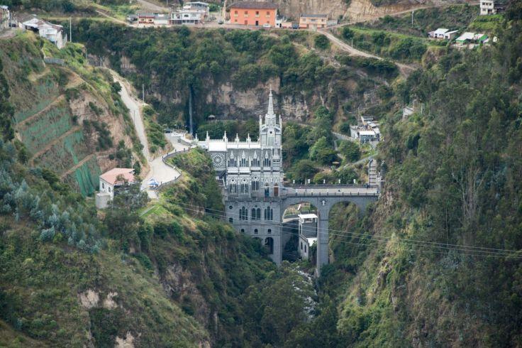 Vue large de Las Lajas