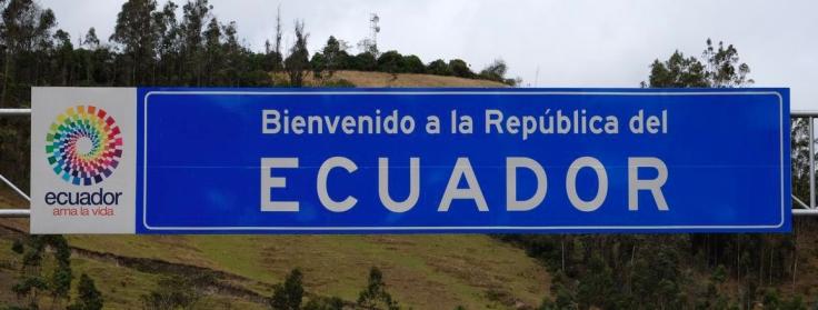 Bienvenido a la Republica del Ecuador