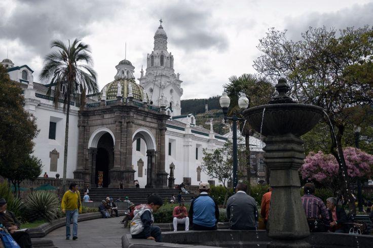 Eglise El Sagrario sur la Plaza Grande