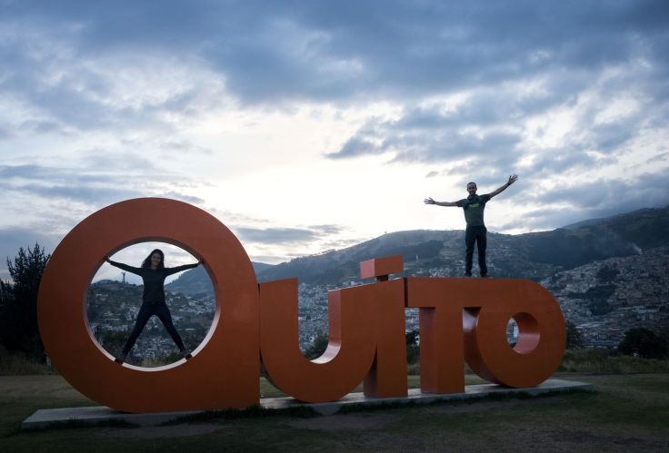 Vue depuis le mirador Itchimbia