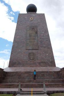 Ouest du Monument Mitad del Mundo