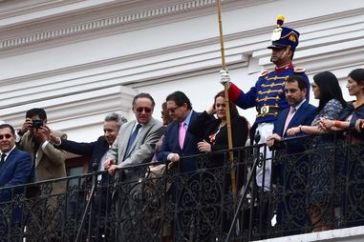 Lenin Moreno, Président d'Equateur