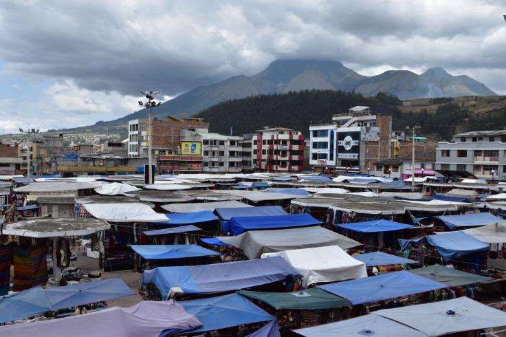 Marché artisanal d'Otavalo