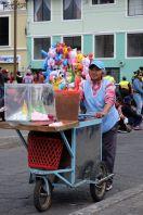 Vendeur de glaces ambulant