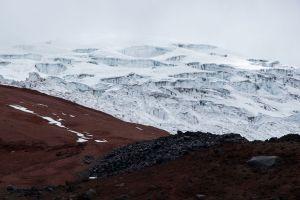 Couche de glace du Cotopaxi