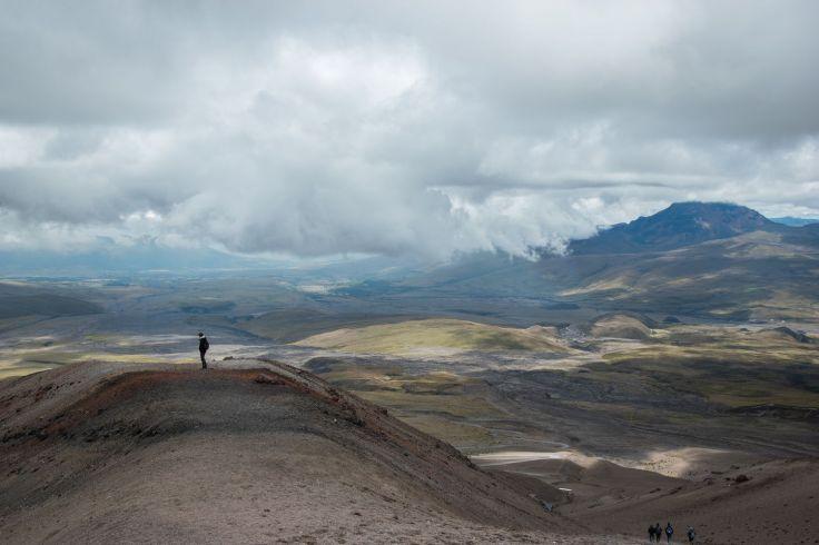 L'immensité du paysage Équatorien au pied du Cotopaxi