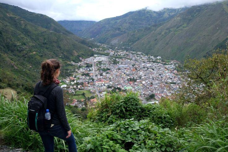 Vue sur Baños depuis le Mirador Bellavista