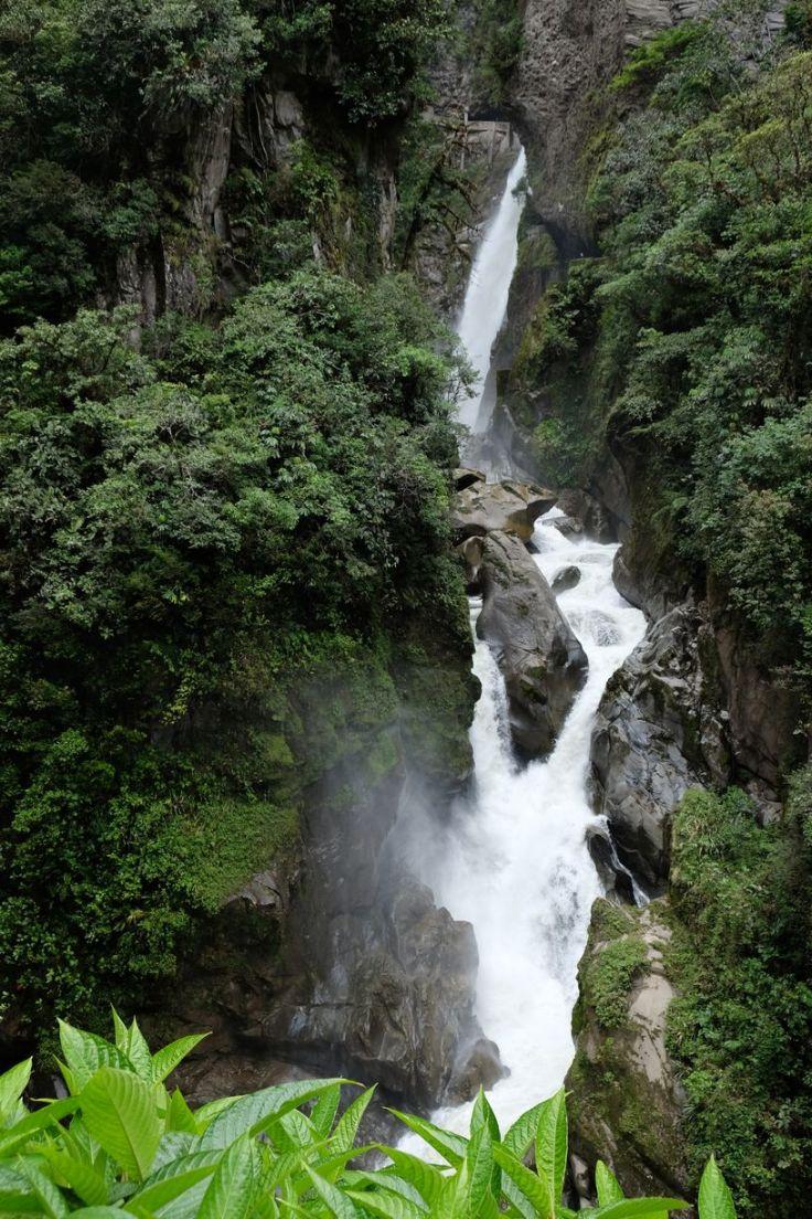 La cascade Pailon del Diablo