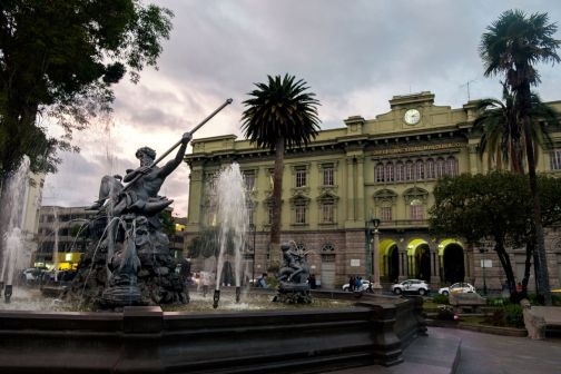 Parc Sucre à Riobamba