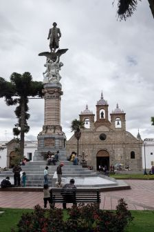 Parc Maldonado à Riobamba