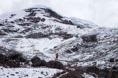 Refuge sur le Chimborazo