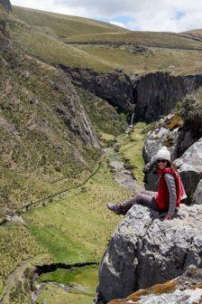 Canyon près du Chimborazo