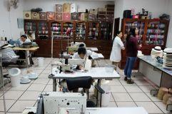 Couture de l'intérieur des Panamas