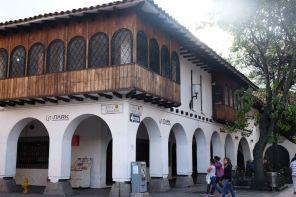 Maison coloniale à Cuenca
