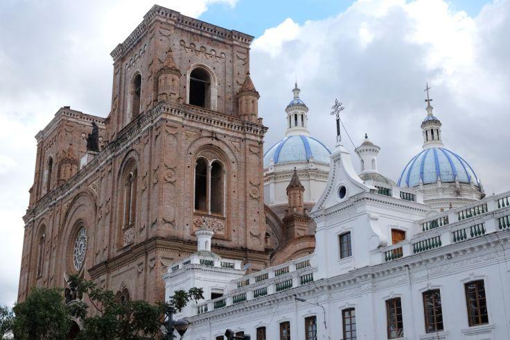 Les dômes bleus de la cathédrale de Cuenca