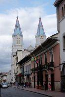 Toits bleus d'une église de Cuenca