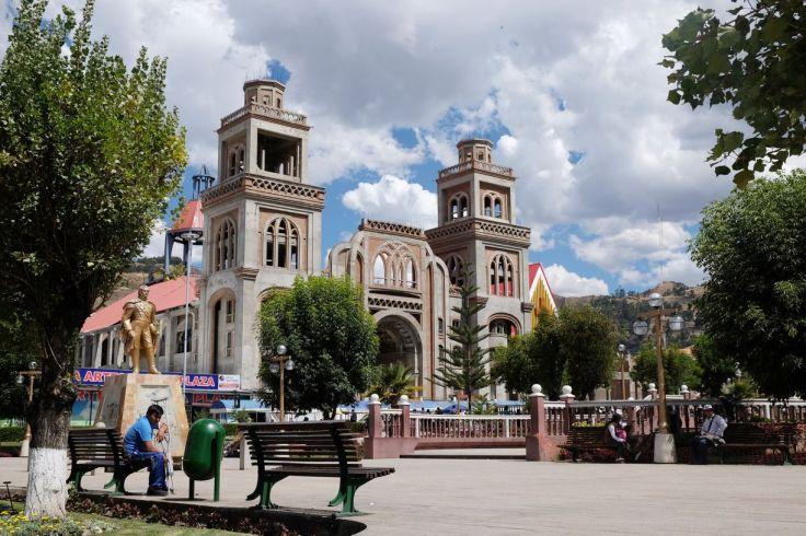 Plaza de Armas à Huaraz