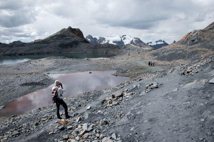 Aux alentours du glacier Pastoruri