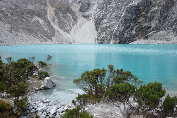 La Laguna 69 et sa cascade