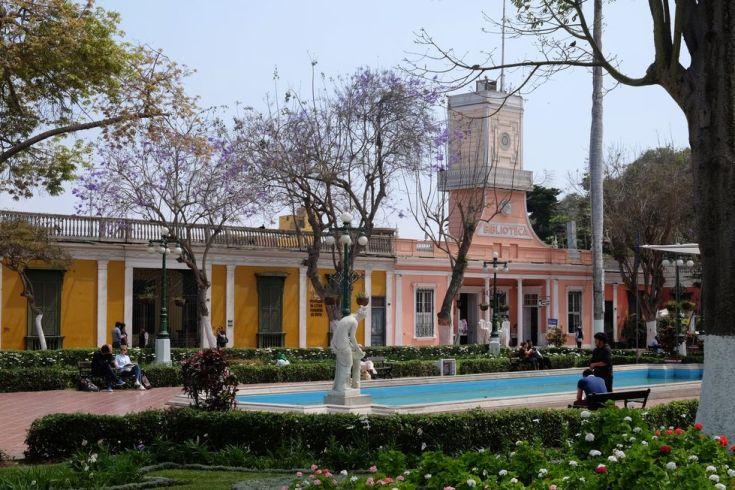 Dans le quartier de Barranco