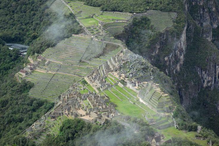Autre vue depuis le Huayna Picchu