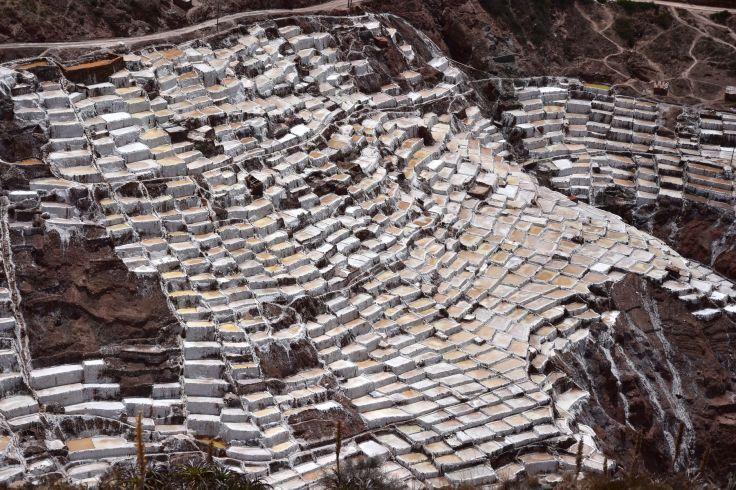 Les salines en terrasse de Maras