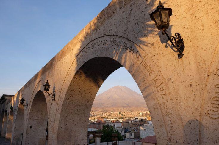 Les arches du Mirador Yanahuara