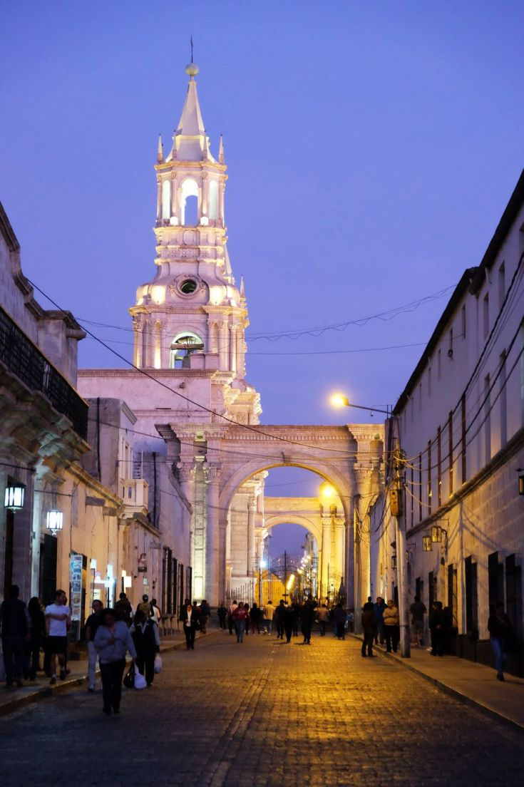 Rues d'Arequipa
