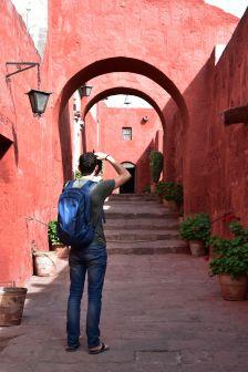 Rue du couvent Santa Catalina