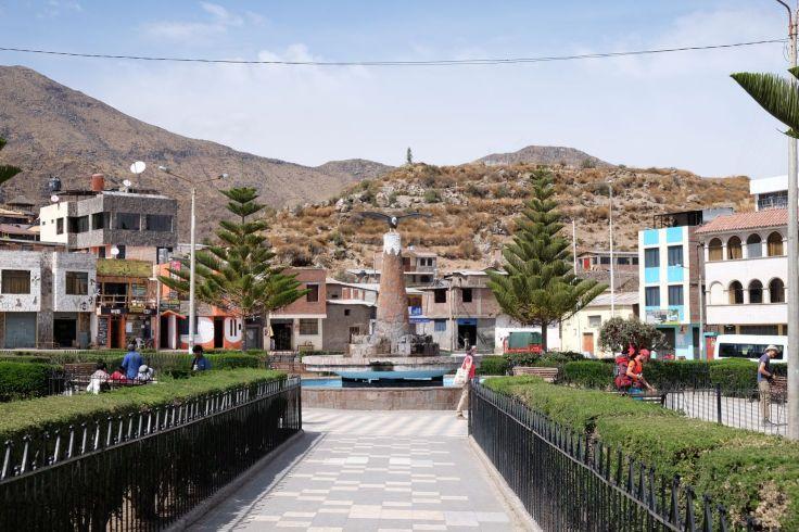 Plaza de armas de Cabanaconde