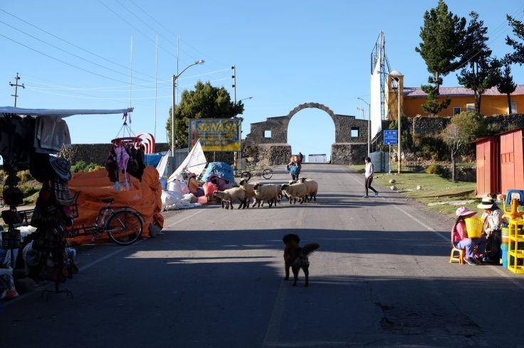 Frontière entre le Pérou et la Bolivie