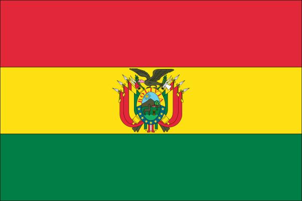 Drapeau de l'Etat Bolivien