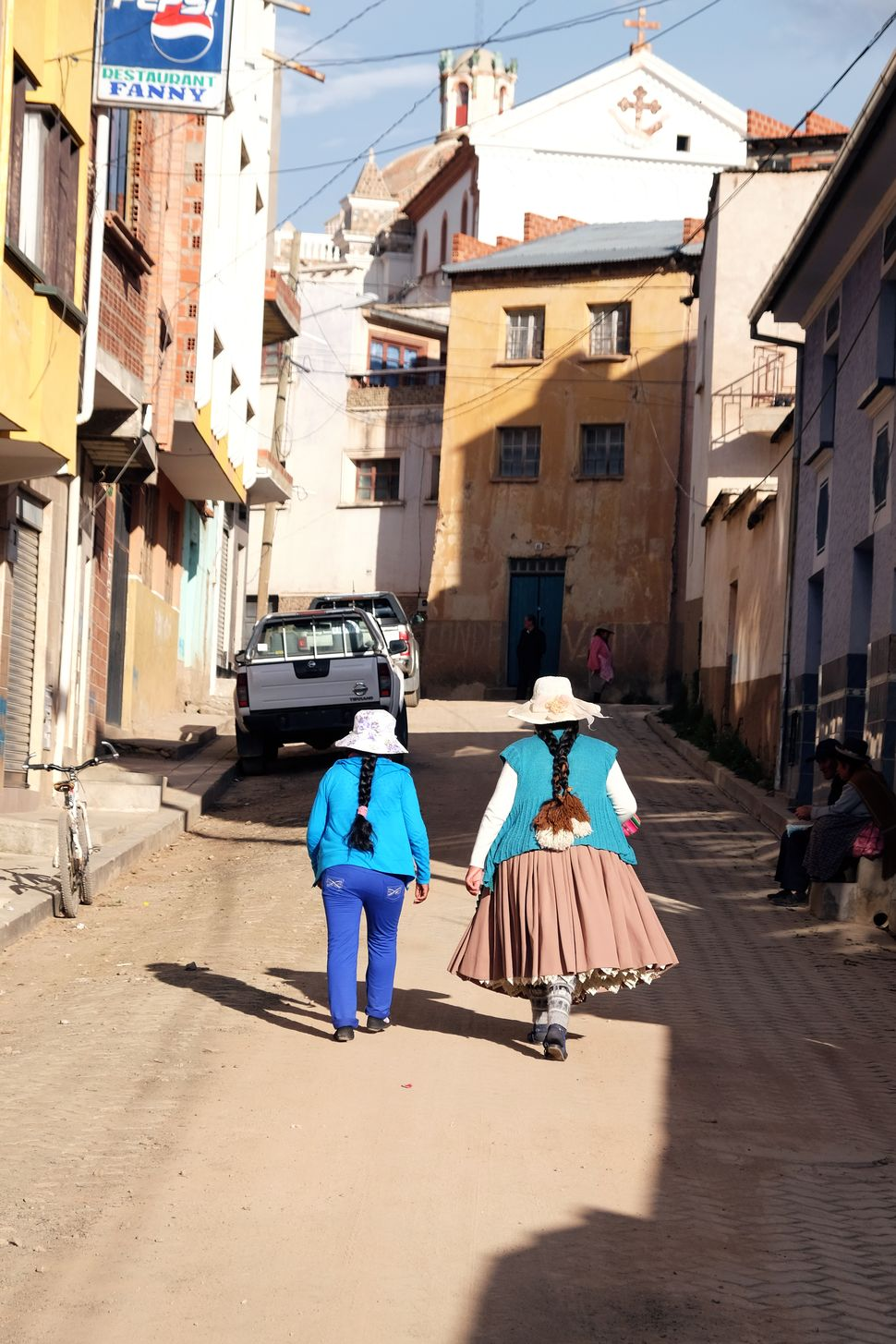 Les tresses typiquement boliviennes