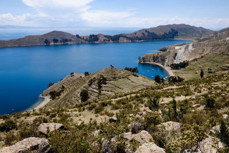 Le lac Titicaca est sublime