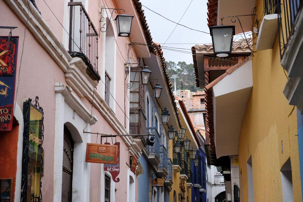 Batiments historiques de la calle Jaen