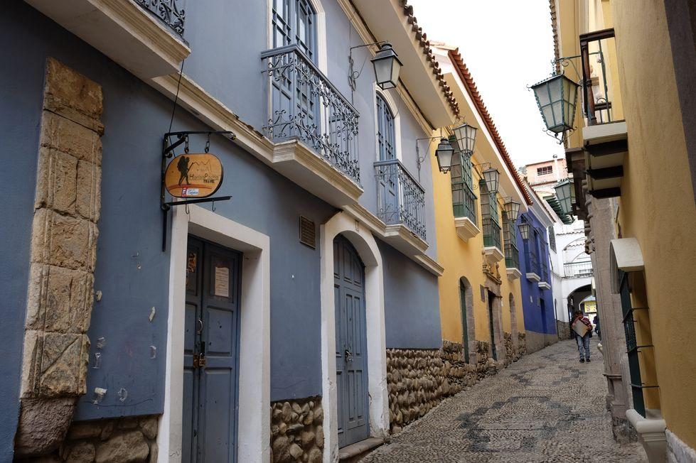 Calle Jaen à la Paz