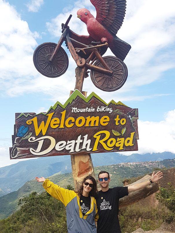 Jen et Max ont survécu à la Death Road
