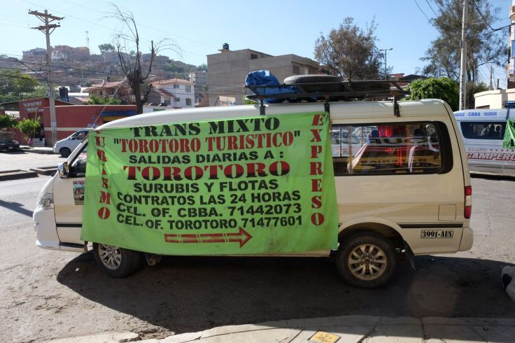 Collectivo pour Torotoro, Torotoro, Bolivie