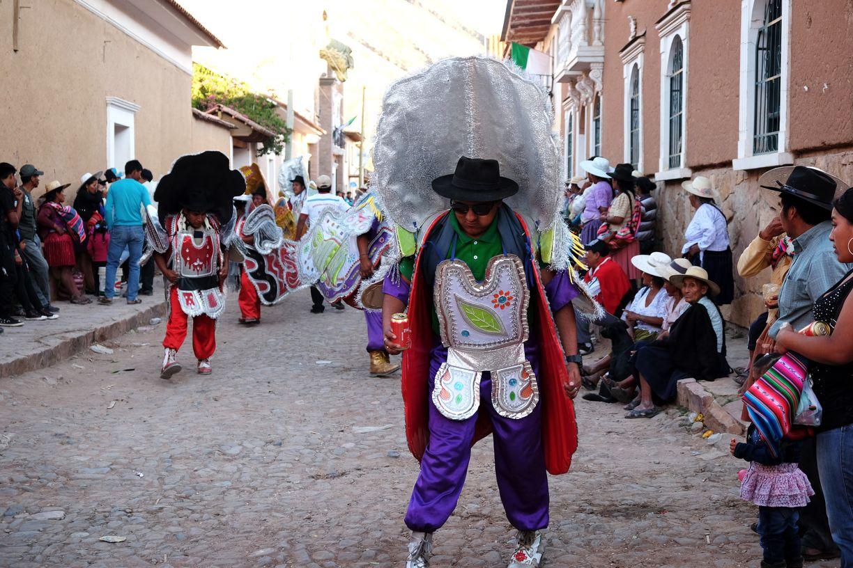 La fête du village Torotoro, Torotoro, Bolivie