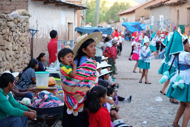 En attendant la parade, Torotoro, Bolivie